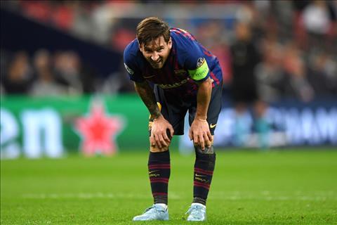 Lionel Messi doi truong Barca