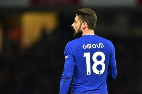 Tiền đạo Giroud của Chelsea và nghịch lý không cần ghi bàn hình ảnh