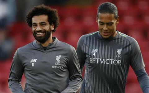 Salah và Van Dijk bình phục chấn thương hình ảnh