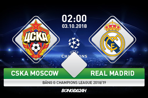 Preview CSKA Moscow vs Real Madrid