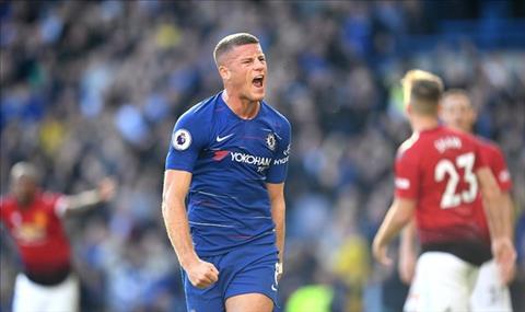 Barkley mung ban thang o phut bu gio cuoi cung, giup Chelsea hoa 2-2 voi Man Utd