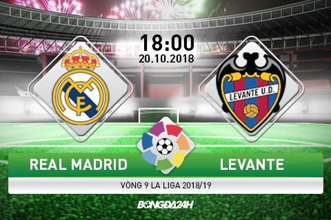 Preview Real Madrid vs Levante