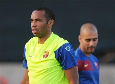 Pep chuc Thierry Henry thanh cong o Monaco
