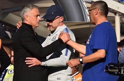 Sarri xin lỗi Mourinho sau trận hòa Chelsea 2-2 MU hình ảnh 2