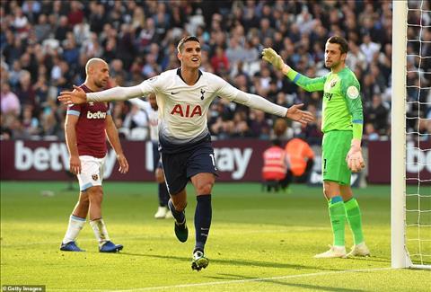 Video tong hop: West Ham 0-1 Tottenham (Vong 9 Premier League 2018/19)