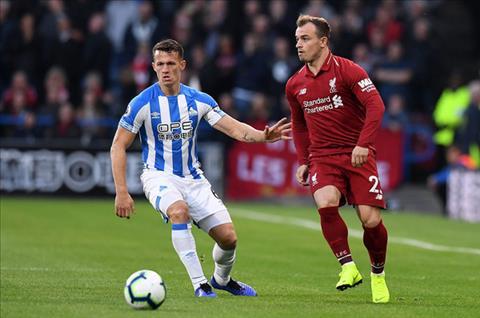 Shaqiri tran Huddersfield 0-1 Liverpool