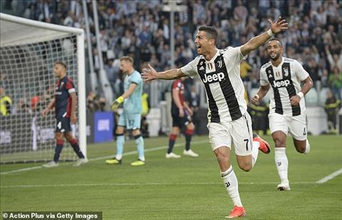 Ronaldo co ban thu 400 o 5 giai VDQG hang dau chau Au trong su nghiep