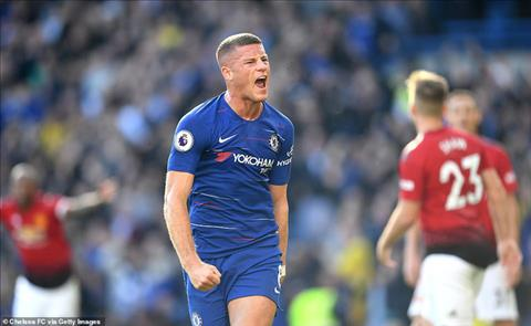 Barkely ghi ban an dinh ty so hoa 2-2 cho Chelsea