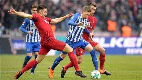Hertha Berlin vs Freiburg 20h30 ngày 2110 (Bundesliga 201819) hình ảnh