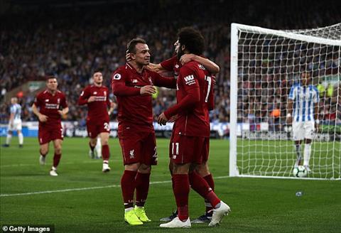Mohamed Salah nói gì sau chiến thắng tưng bừng của Liverpool  hình ảnh
