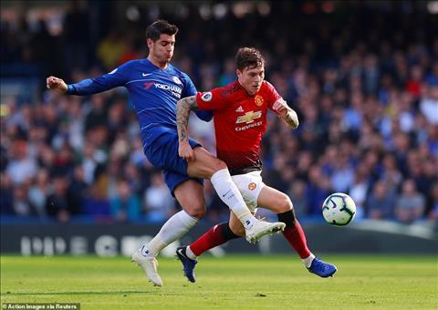 Tiền đạo Morata trận Chelsea 2-2 MU tiếp tục gây thất vọng hình ảnh