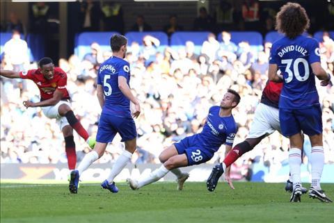 HLV Jose Mourinho nói về Anthony Martial sau trận hòa Chelsea hình ảnh