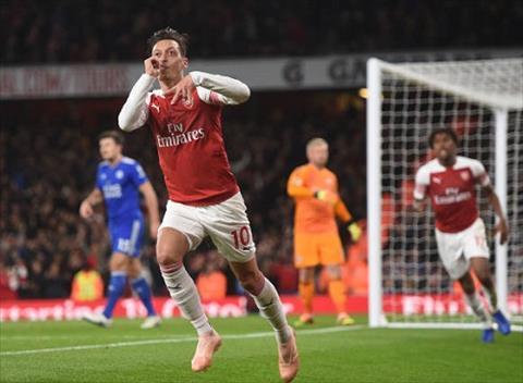 Kết quả bóng đá Arsenal vs Leicester 3-1 Premier League 201819 hình ảnh