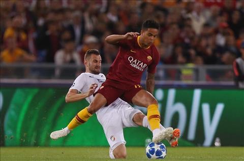 Viktoria Plzen thua Roma 0-5