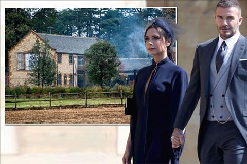 Biệt thự của vợ chồng Becks - Vic bị trộm dòm ngó hình ảnh