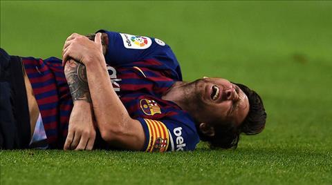 HLV Ernesto Valverde nói về chân thương của Lionel Messi hình ảnh
