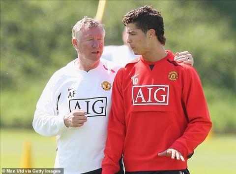 Ronaldo luon biet on Sir Alex Ferguson.