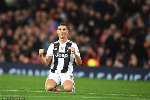 Ronaldo an mung chien thang truoc doi bong cu