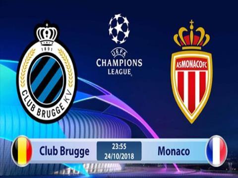 Club Brugge vs Monaco 23h55 ngày 2410 (Champions League 201819 hình ảnh