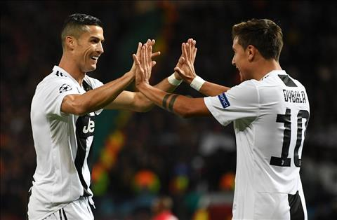 Juventus vs MU Dybala va Ronaldo