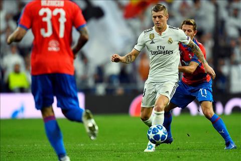 Toni Kroos noi ve tran Real 2-1 Viktoria Plzen