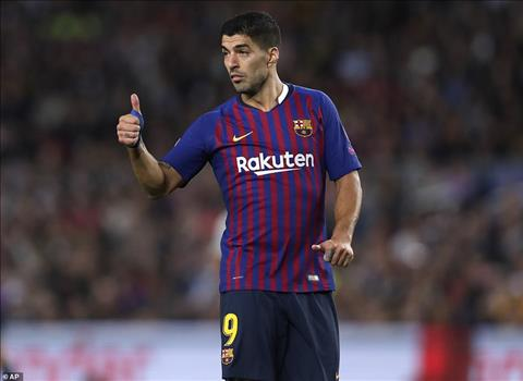 Luis Suarez bo lo khong it co hoi ghi ban thuan loi