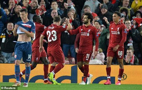 Điểm nhấn Liverpool vs Crvena Zvezda bảng C Champions League hình ảnh