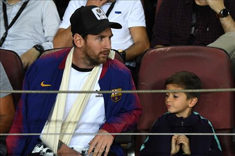 Góc nhìn Messi ngồi ngoài trận Barca 2-0 Inter Milan hình ảnh