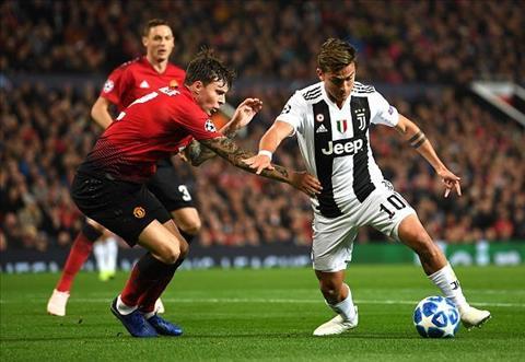 Vi tri cua Lindelof la van de cua Man Utd khi lien tuc bi Juventus khoet vao.