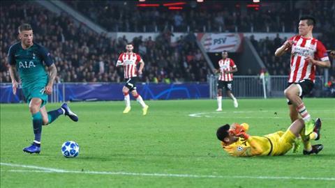 Kết quả PSV vs Tottenham bóng đá UEFA Champions League đêm qua hình ảnh