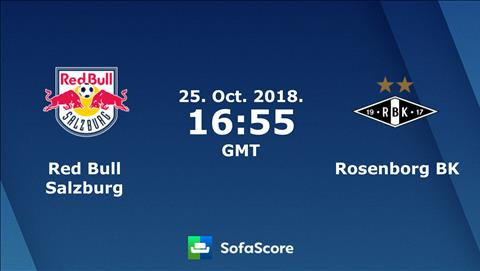 Salzburg vs Rosenborg 23h55 ngày 2510 (Europa League 201819) hình ảnh