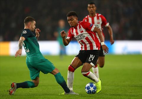 Thống kê PSV vs Tottenham - Bảng B Champions League 201819 hình ảnh