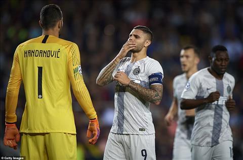 Icardi lên tiếng sau trận thua Barca  hình ảnh