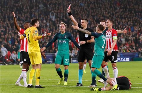 PSV 2-2 Tottenham.