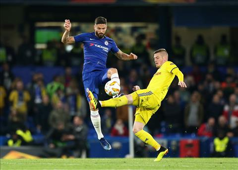 Giroud tuyen bo Chelsea muon vo dich Europa League mua nay