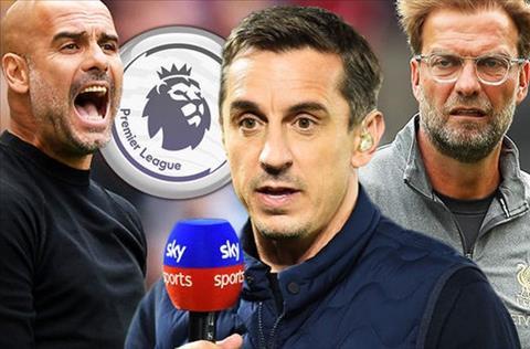 Gary Neville ủng hộ Man City vô địch