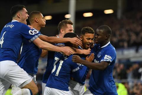 Everton dang choi thang hoa o 3 vong gan nhat