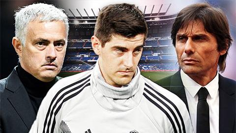 Thủ môn Courtois nói về HLV Mourinho và Conte dẫn dắt Real Madrid hình ảnh