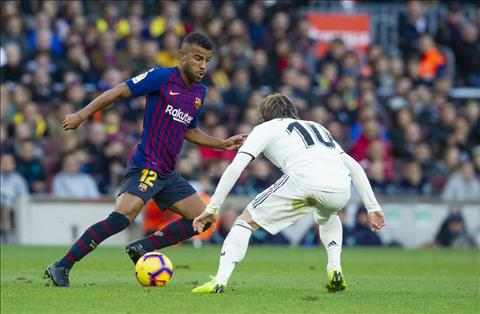 Rafinha vs Modric o tran Real vs Barca