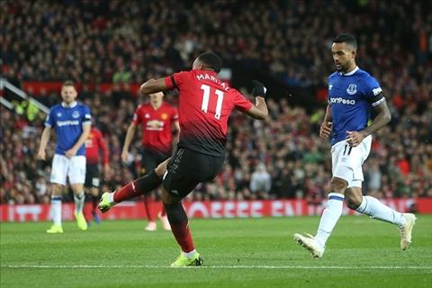 Martial vs Everton