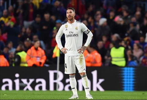 Sergio Ramos bảo vệ HLV Julen Lopetegui sau trận Barca 5-1 Real hình ảnh