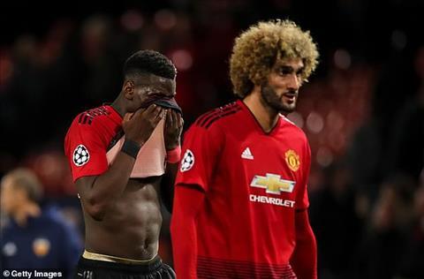 MU vs Valencia Fellaini