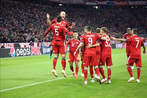 Kết quả Bayern Munich vs Ajax 1-1 bảng E Champions League 2018 hình ảnh
