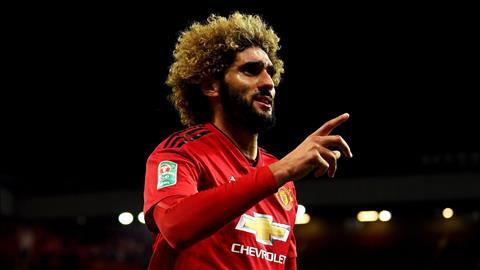 Tiền vệ Marouane Fellaini đạt thể trạng hoàn hảo