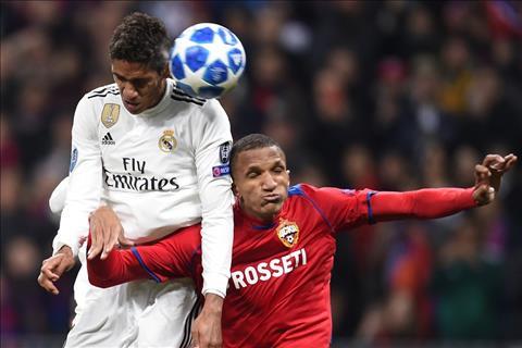 Varane cua Real vs CSKA