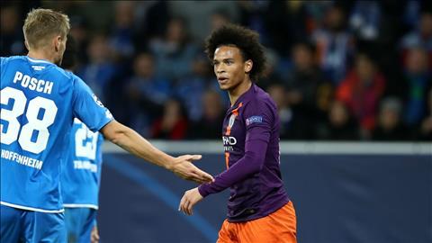 Tiền vệ Sane bực tức vì bị trọng tài cướp 1 quả penalty hình ảnh