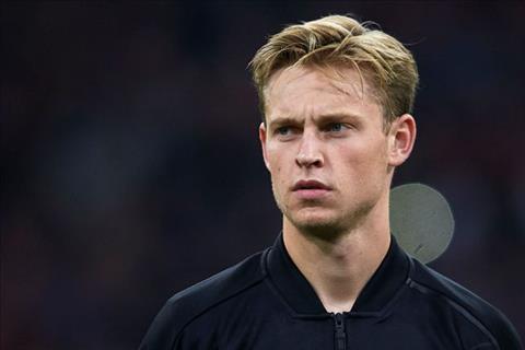 Frankie de Jong từ chối cập bến PSG vào tháng 1 năm 2019 hình ảnh
