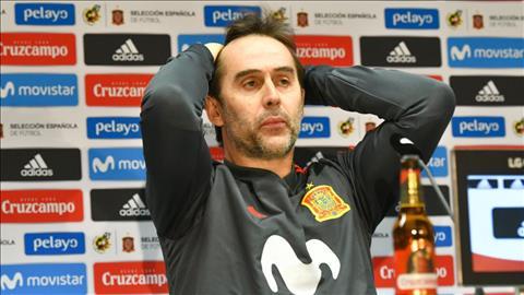 Julen Lopetegui bi sa thai khoi ghe HLV truong DT Tay Ban Nha chi hai ngay truoc khi World Cup 2018 khoi tranh.