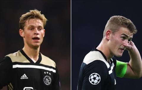 Chi 140 triệu euro, chuyển nhượng Barca mua De Jong và De Ligt hình ảnh