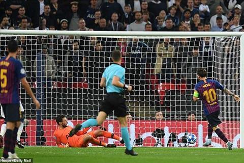 Messi vs Tottenham